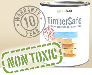 Timbersafe Non Toxic wood preservative