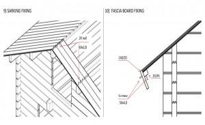 Sarking / Fascia fixing