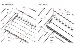 Flooring / Loft detail