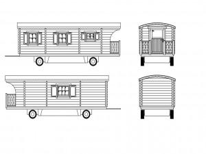 Gypsy caravan long
