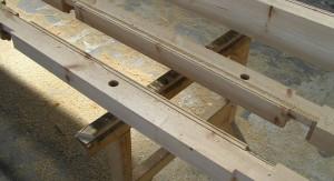 First timber
