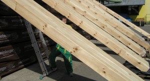 Glue laminated beams