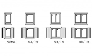 Windows for cabins